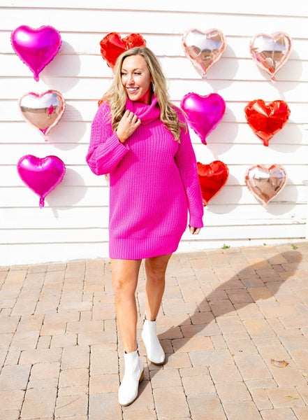 Barbie Girl Sweater Dress