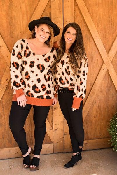 Cheetah Jules and James Original Sweater