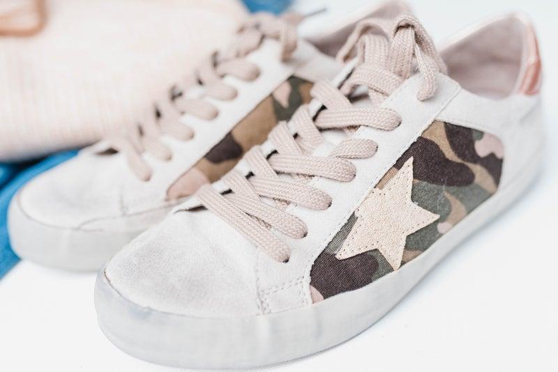 Camo Star Sneakers