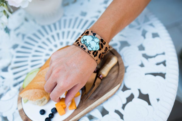 Leopard Cuff Bracelet *Final Sale*