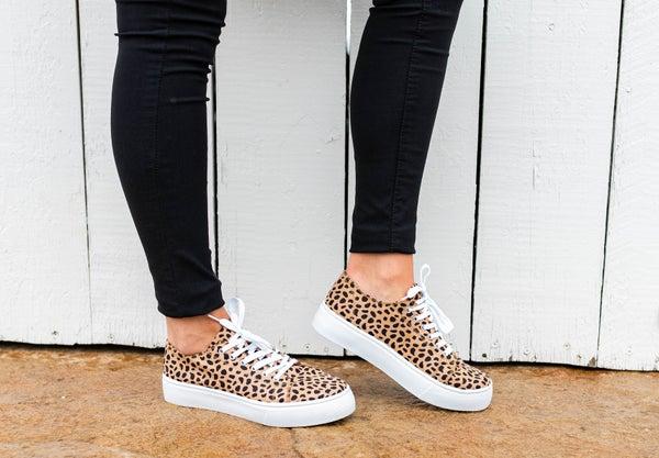 Alison's Favorite Cheetah Sneakers