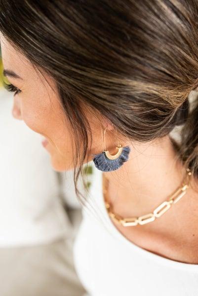 Classy in Her Tassel Earrings *Final Sale*