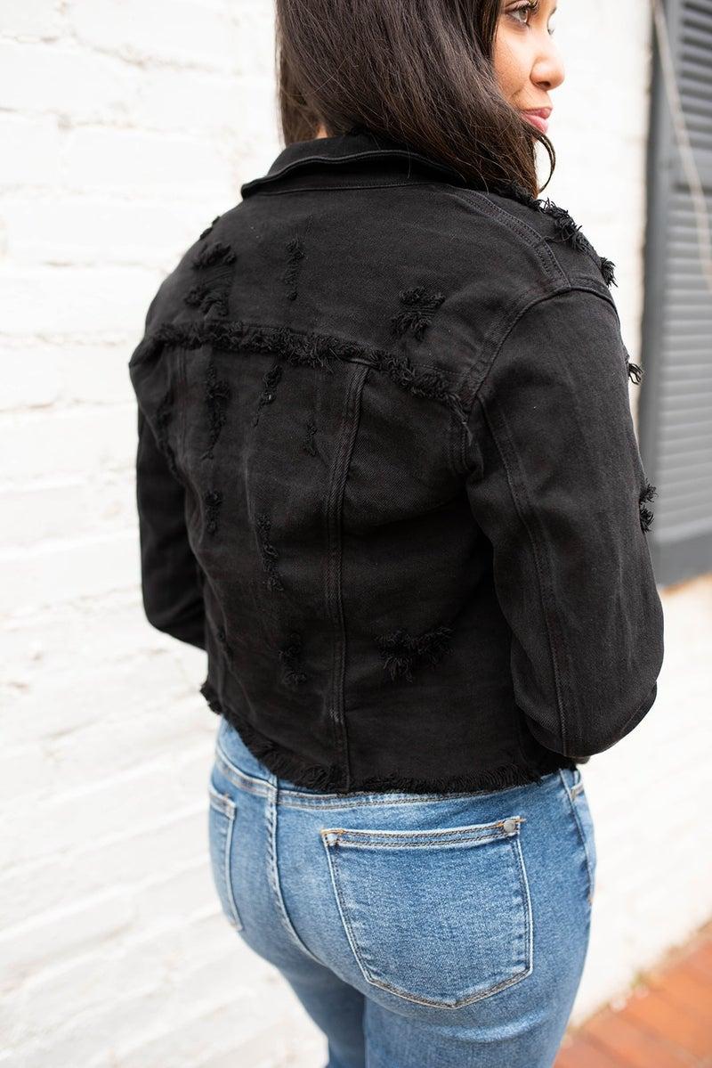 Black Denim Jacket of the Year