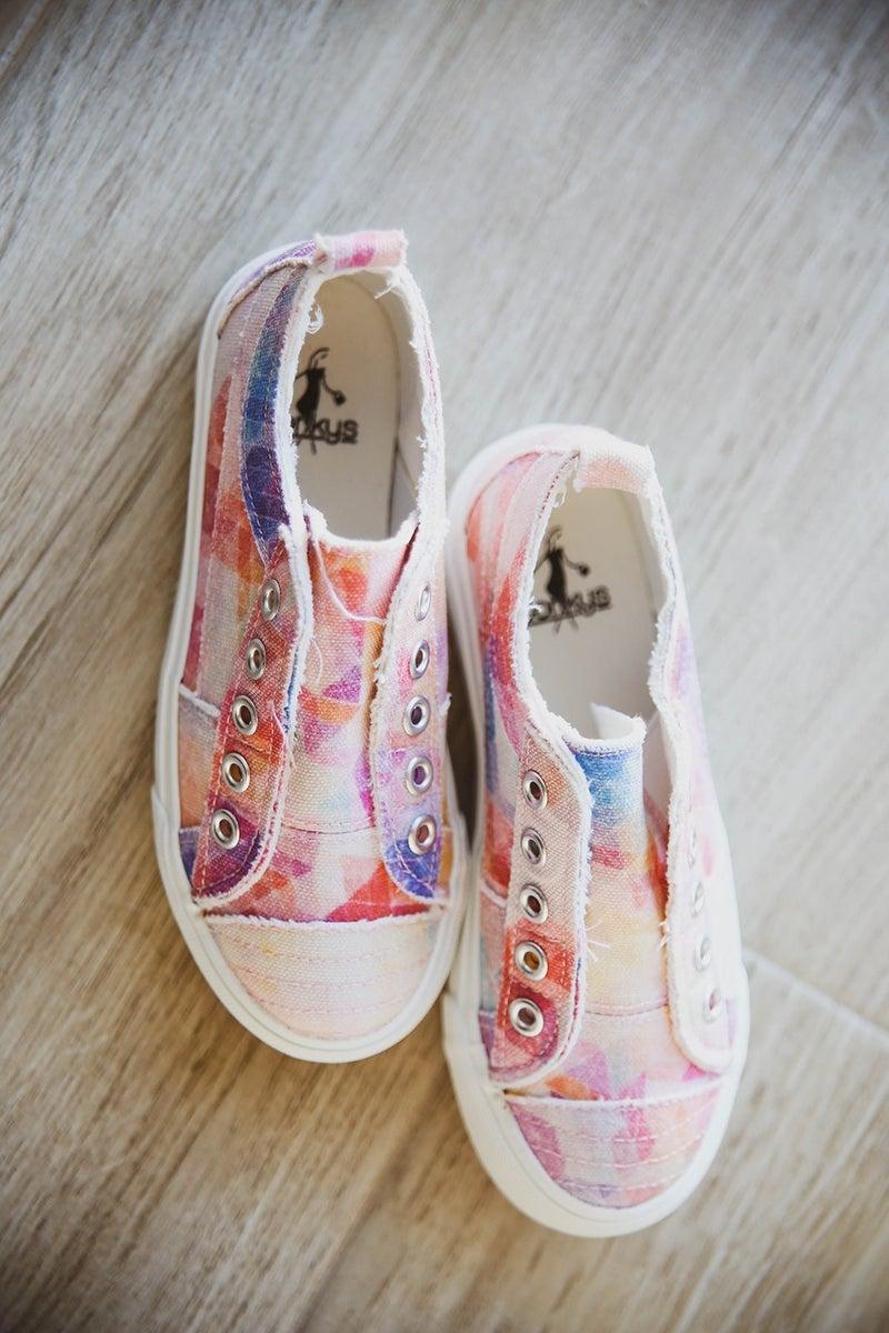 Corkys' Tie Dye Girls Sneakers