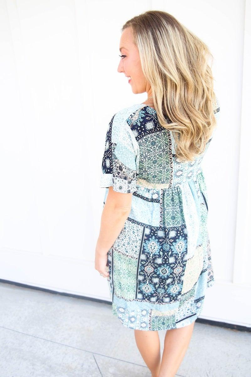 Patchwork Cutie Dress
