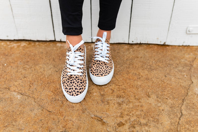 Alison's Favorite Cheetah Sneakers