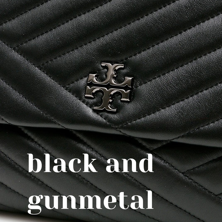 Black and Gunmetal