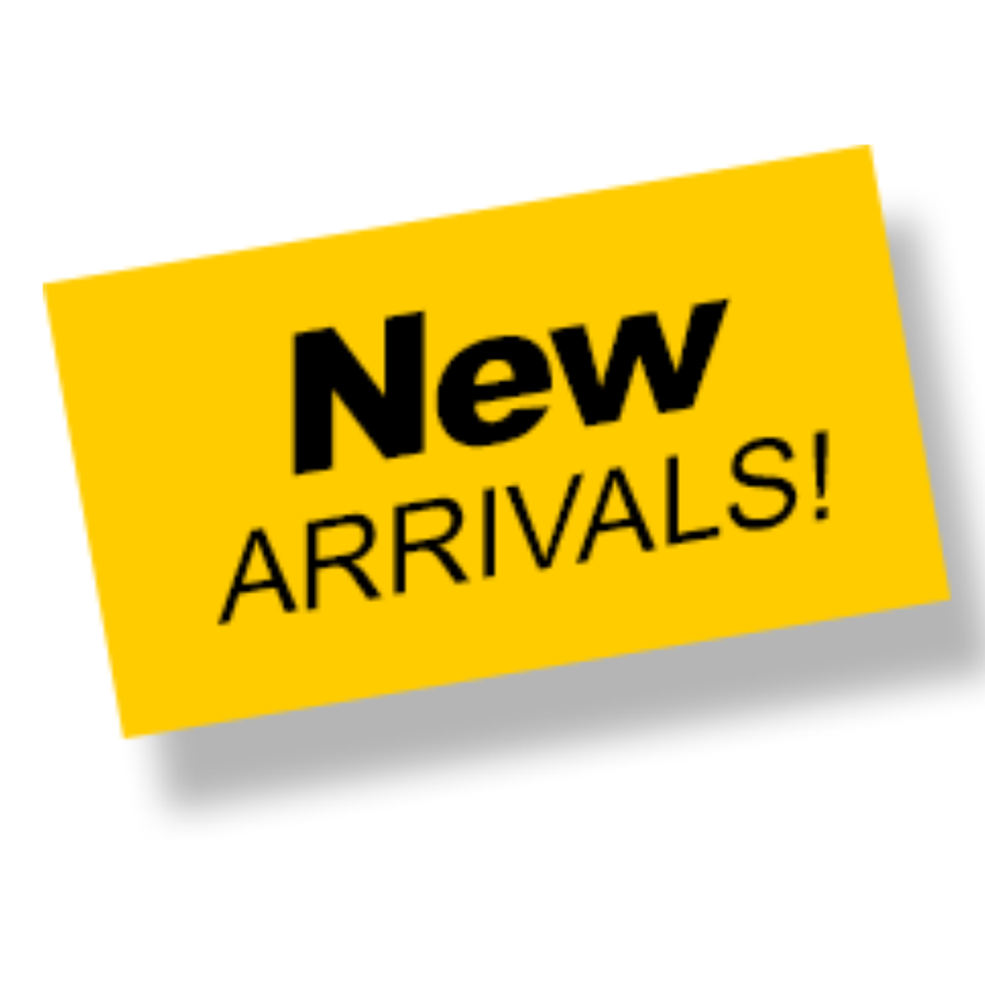 New Arrivals Section COMING SOON!