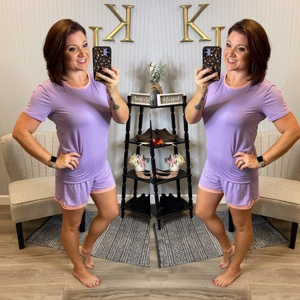 Lilac/Blush PJ Set