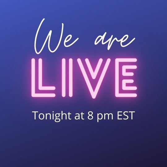 LIVE at 8PM