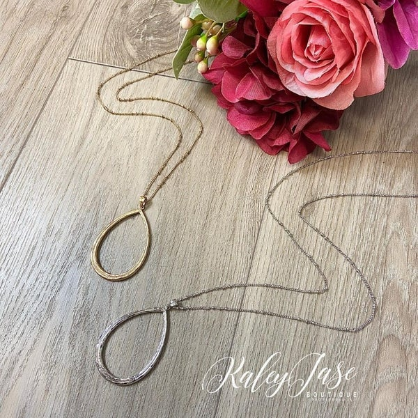 Drop Pendant Necklace #14