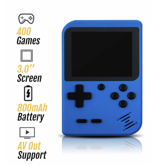 Game Console with 400 Games