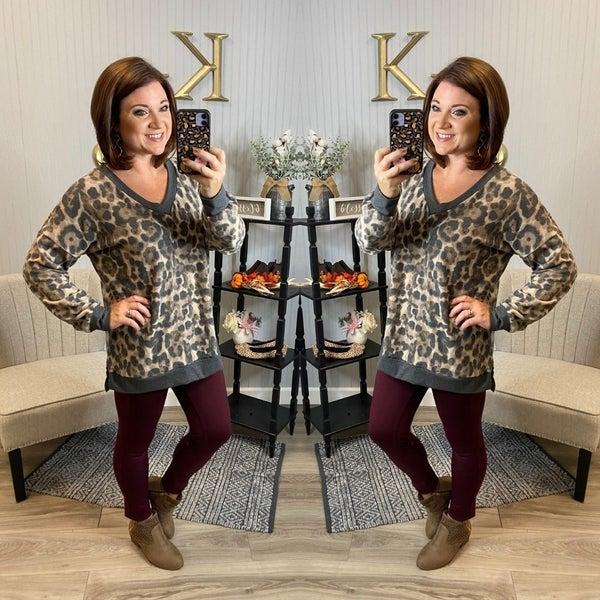 SIL Super Soft Leopard Sweatshirt