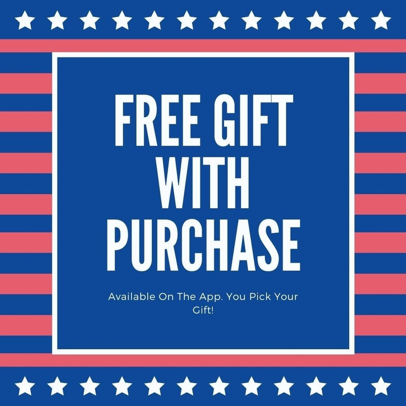 Free Gift With Purchase Today