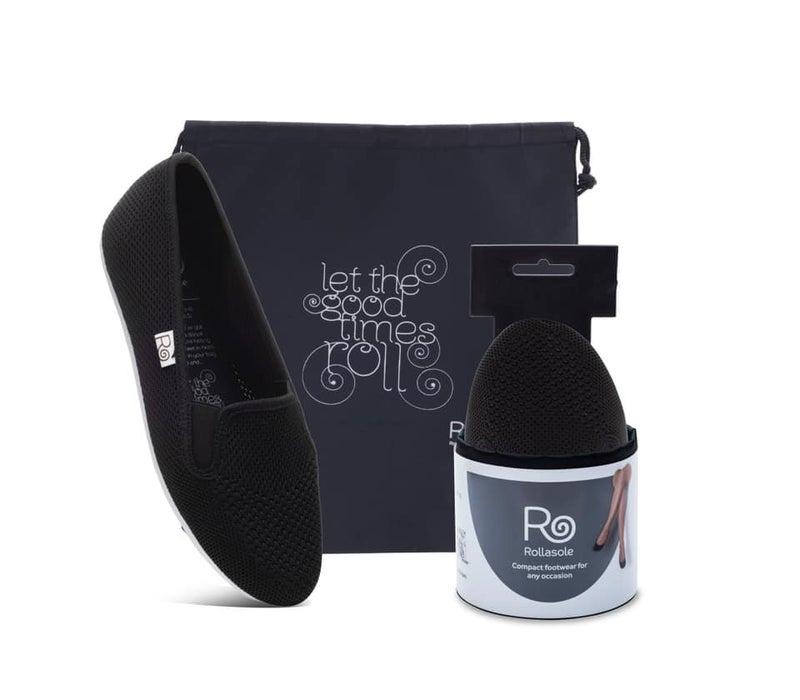 Black Rollasole Sneakers