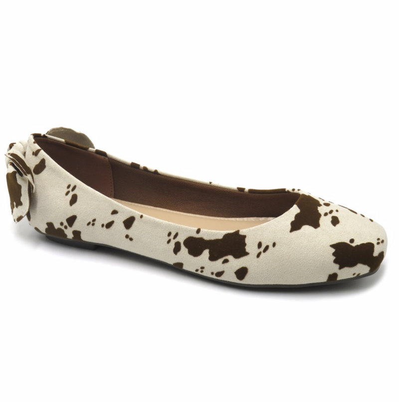 Cow Spotted Flats