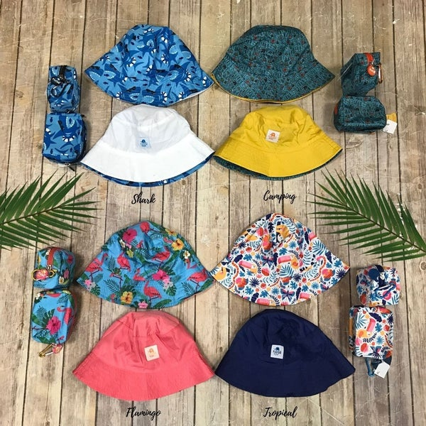 Kid Floppy Sun Hat & Bag *Final Sale*