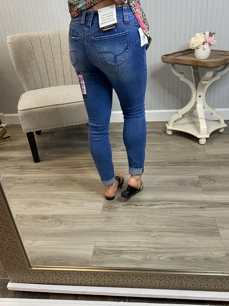 WBB Medium Wash Full Length Jeans