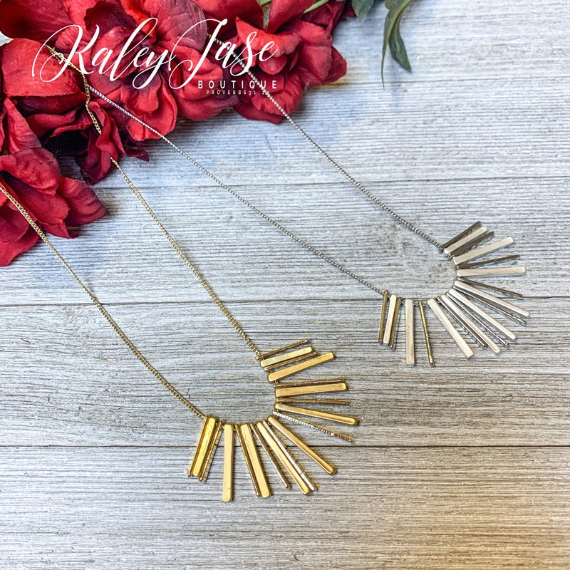 Spiked Pendant Necklace #20