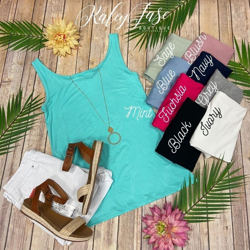 The Perfect Round Neck Tank