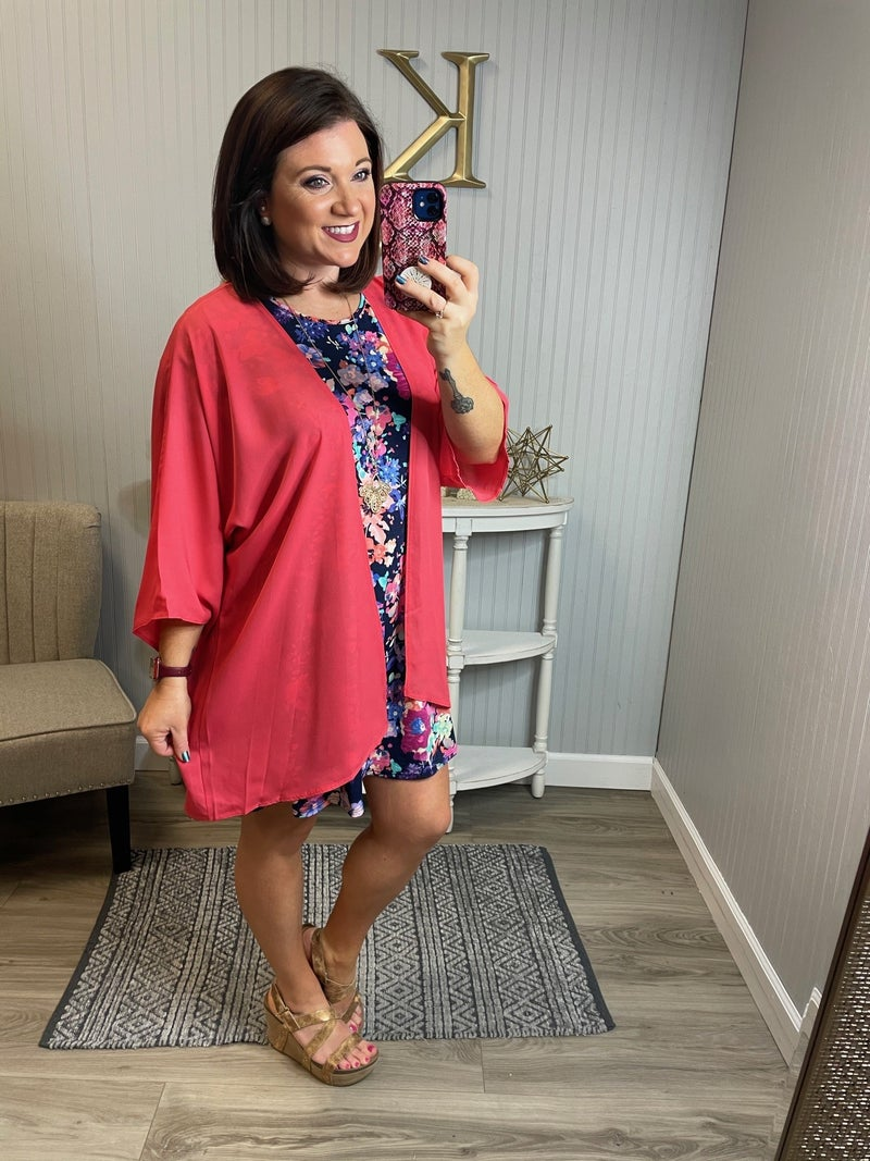 Bright Floral S/S Dress
