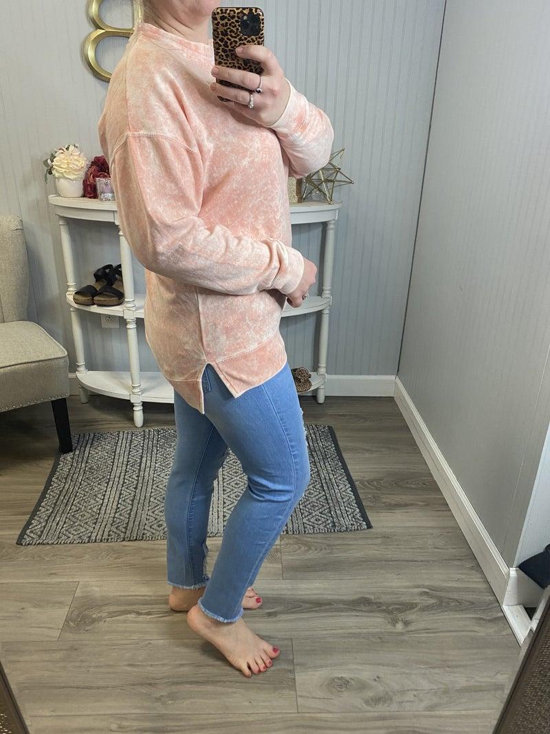SIL Pinky Peach Sweatshirt