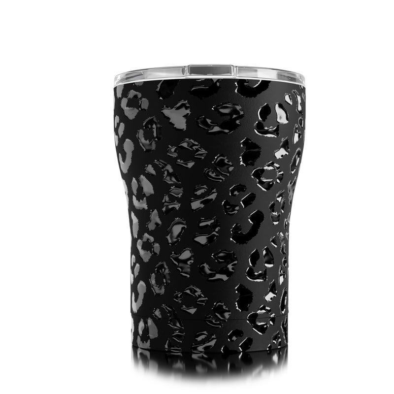12 Oz Sic Black Leopard Eclipse Cup