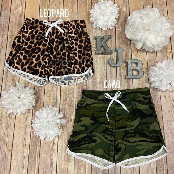 Patterned Lounge Shorts