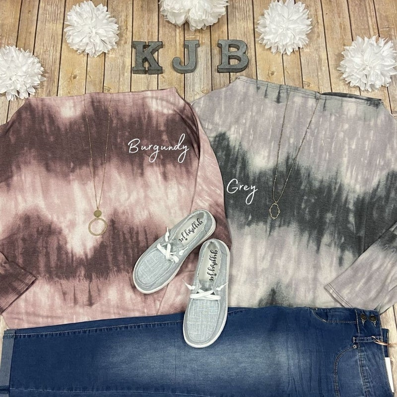 Ombre Slouchy Top *Final Sale*
