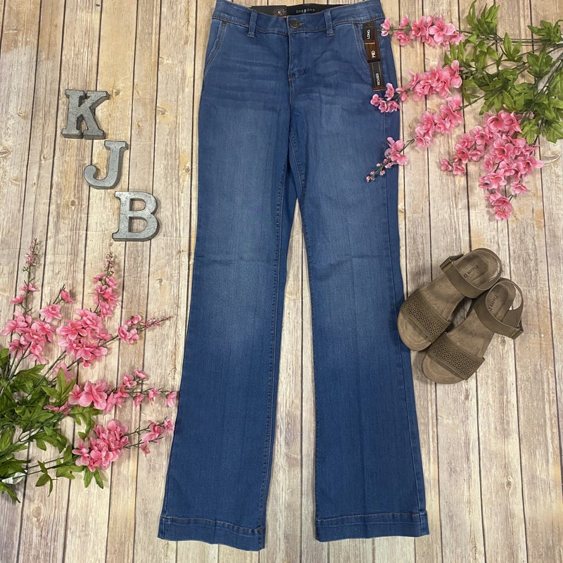 One5One Medium Wash Bootcut Jeans