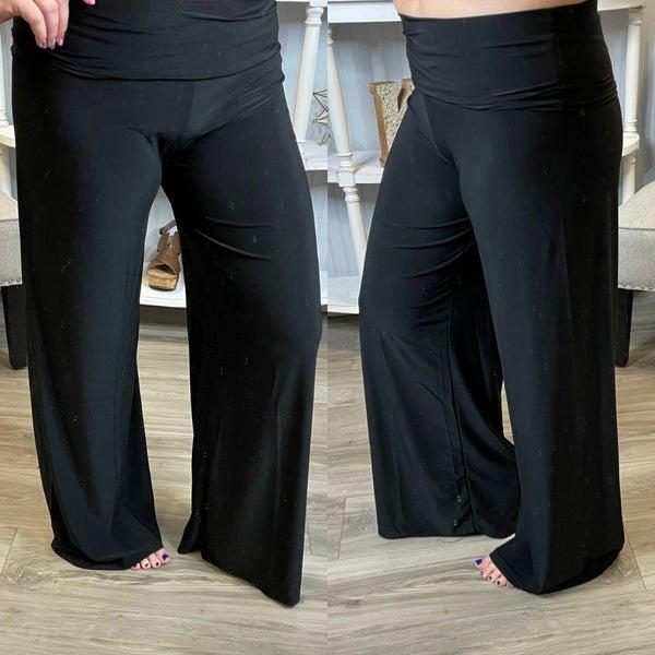 Black Sleek Dress Pants
