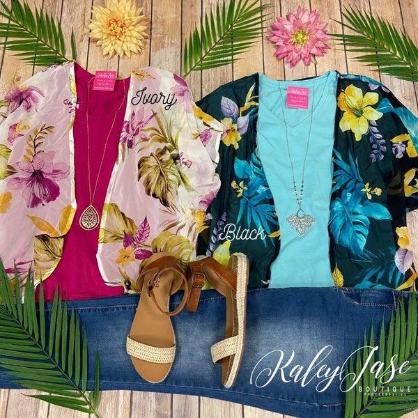Deal of the Day Tropical Kimono