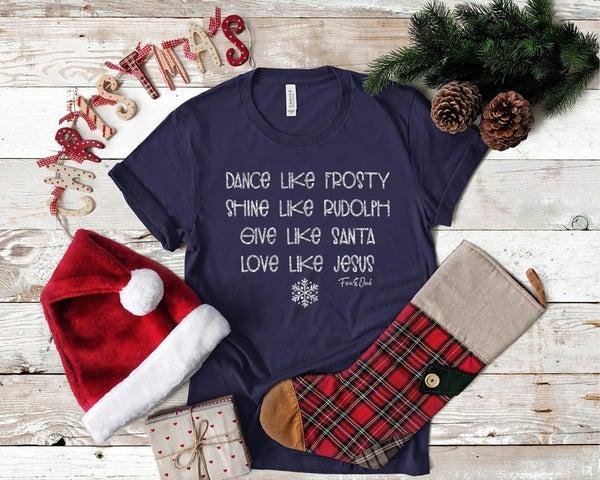 Love Like Jesus Christmas Tee *Final Sale*