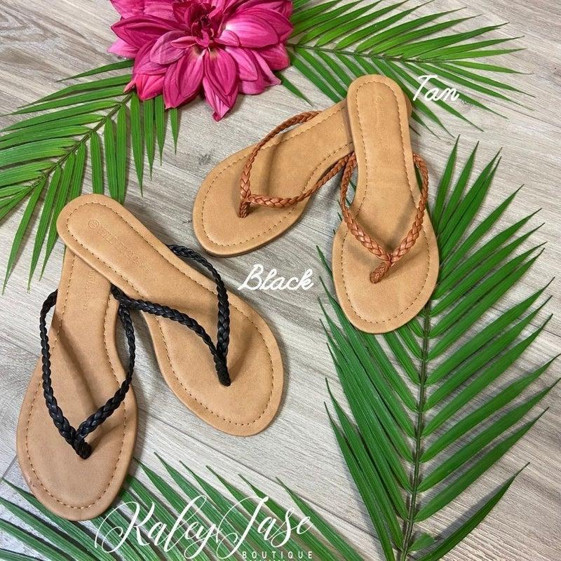Simple Braided Flip Flops