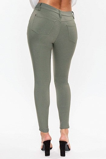 YMI Hyperstretch Colored Jeggings