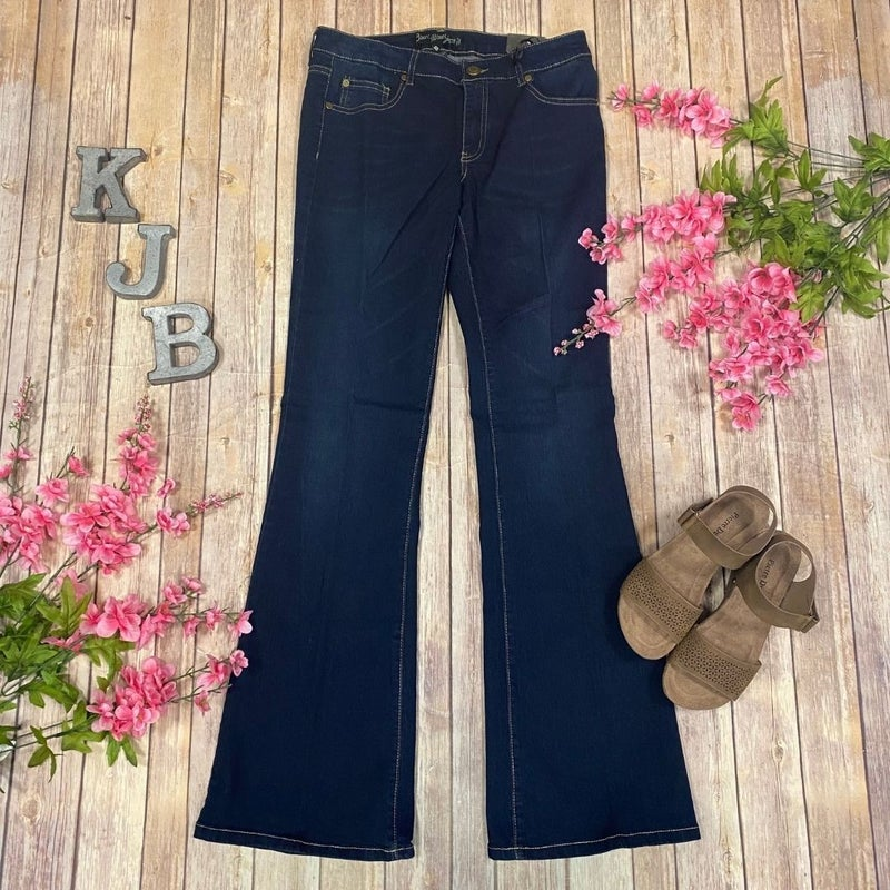 BB Dark Wash Flare Jeans