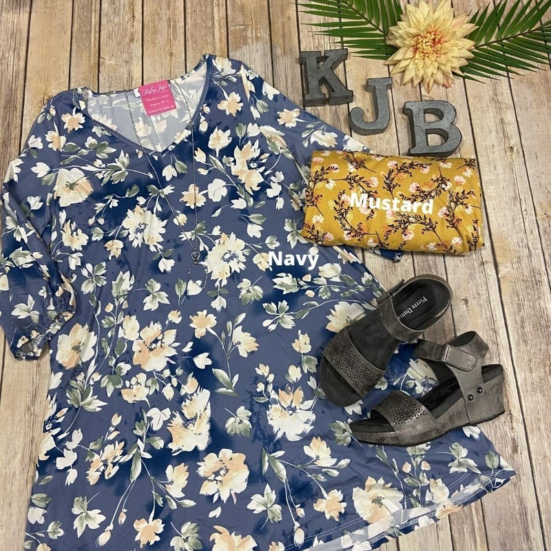 Deal of the Day Floral Tunic