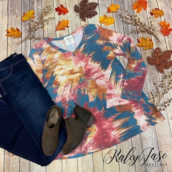 Fall Abstract LS Top