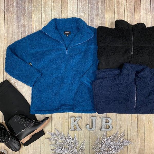Sherpa 1/2 Zip Pullover *Final Sale*