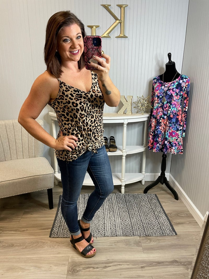 Z Leopard Reversible Tank Top