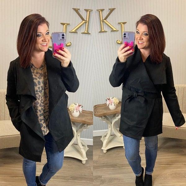 Black Blouse Jacket *Final Sale*