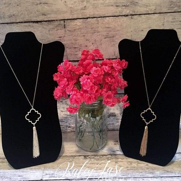 Quatrefoil Necklace #4