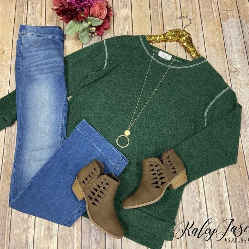 SIL Green Raglan Sweatshirt
