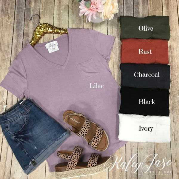 DZ Short Sleeve Pocket Top