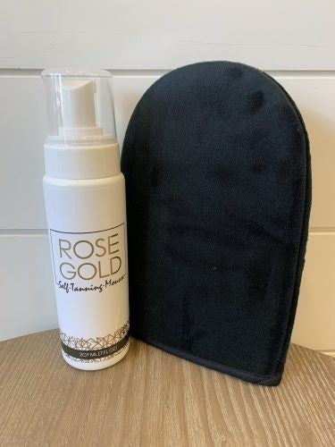 Rose Gold Sunless Tanner
