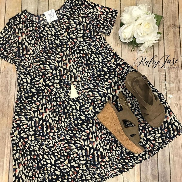 Fall Spotted Dress