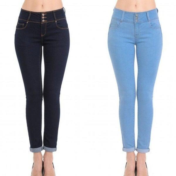 WX Triple Button Jeans