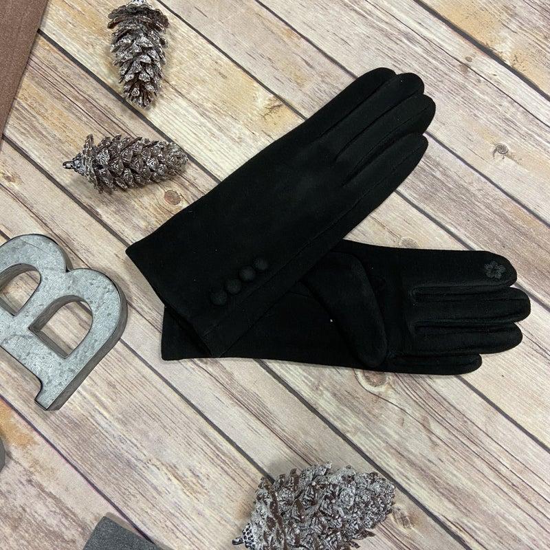 Touchscreen Button Gloves