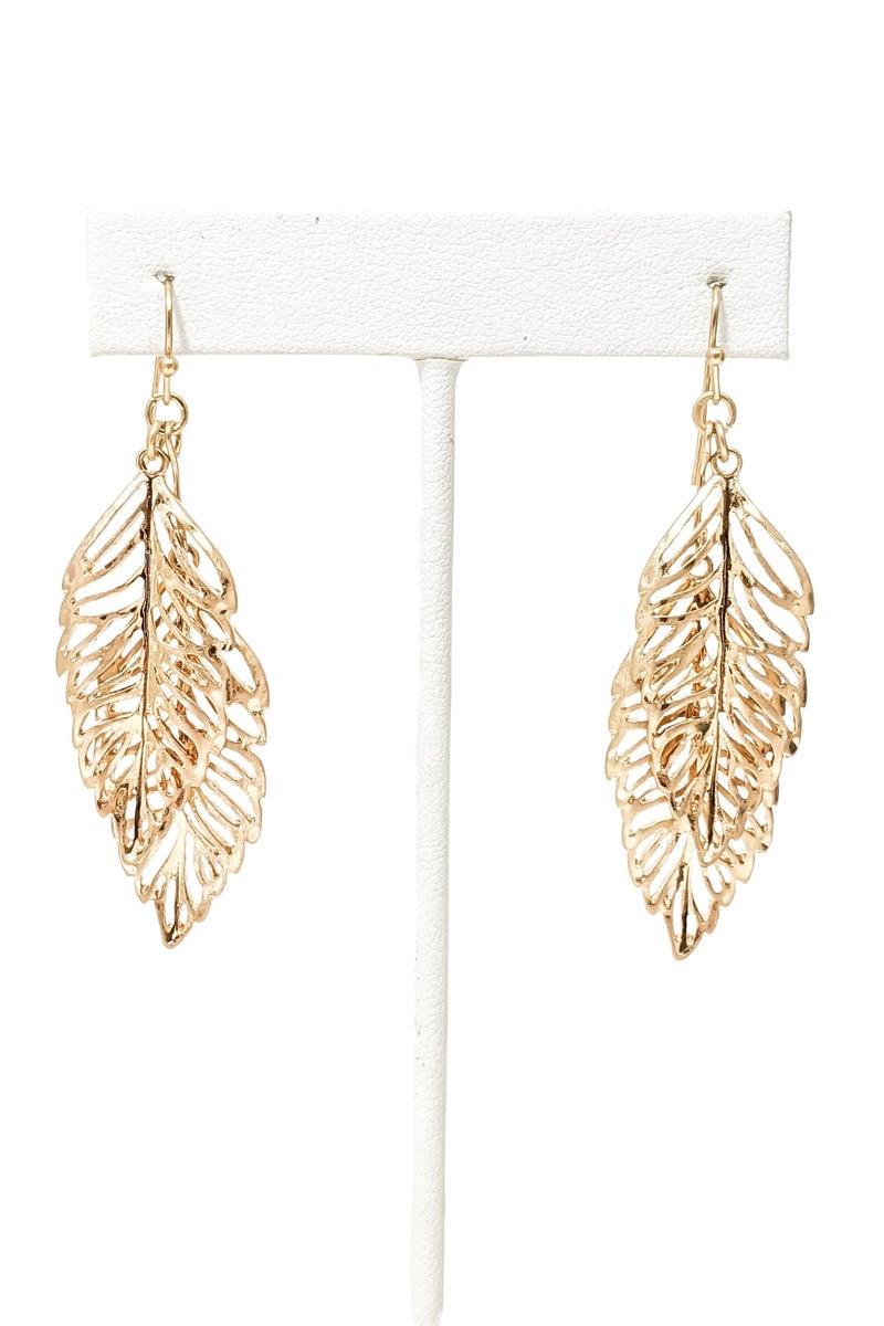 Adaline Leaf Earrings -G2