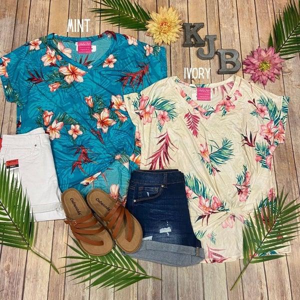 Deal Tropical Twist Top